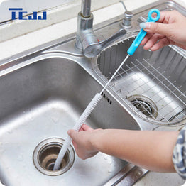 71cm Bendable Kitchen Sewer Cleaning Brush Sink Tub Toilet Dredge Cleaner