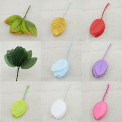 100pcs free shipping artificial flowers simulation rose leaf floral decoration