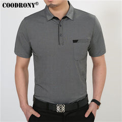 T Shirt Cotton Clothing Men T-Shirt With Pocket Plus