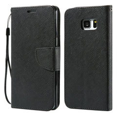KISSCASE Classical Flip Leather Case for Samsung Galaxy S8/S7 Edge/S6