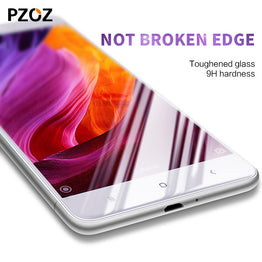 Pzoz Tempered Glass Screen Protector for Xiaomi Redmi 3S