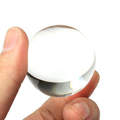 30mm White Clear Crystal Ball Glass Ball Globe Miniature Oornaments For Gifts Home Docor
