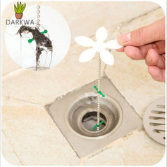 Bathroom Hair Sewer Filter Drain Outlet Kitchen Sink Filter Strainer Drain Cleaners Anti Clogging Floor Wig Removal Clog Tools