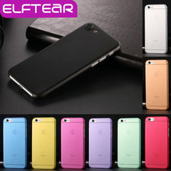 ELFTEAR Ultra Thin Translucent Matte Hard PC Case for iPhone 7/7 Plus/6/6s Plus/5/5s/SE
