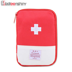 BalleenShiny Mini First Aid Medical Kit Portable Travel Medicine Storage Bag