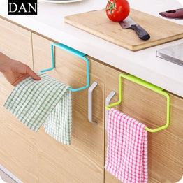 1-piece Over Door Towel Holder Rack Rail Cupboard Hanger