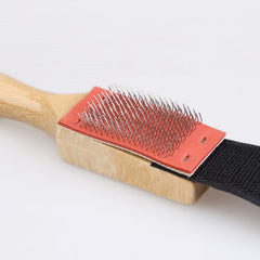Best Price Men Women Wood Suede Sole Wire Shoe Brush Shoe Cleaners
