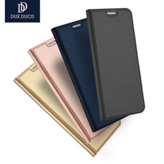 DUX DUCIS Ultra-thin Flip Stand PU Leather Case for Samsung S8 Plus/S7 Edge