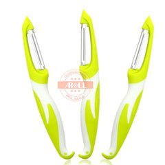 1PC Stainless Steel Peeler Zester Fruit Vegetable Peeler Knife Cutter Zester