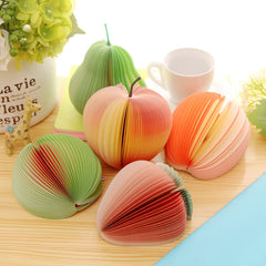 1set Cute Sticky notes Post it Creative DIY fruit Memo pads wall Stickers