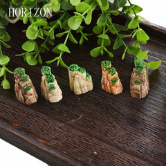 5 PCS/Set Mini Mountain MiniatureToys Bonsai Ornaments Home Decorative