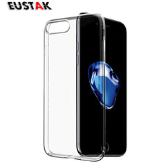 Eustak Ultrathin Clear Transparent TPU Silicone Soft Cover Case for iPhone 6