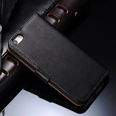 Tomkas PU Leather Wallet Flip Case for iPhone 5/5S/SE