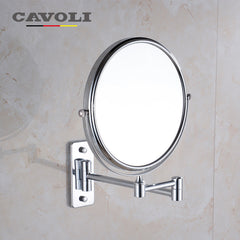 Cavoli 6 inches Stainless Steel Chrome Bath Mirrors  #MM-1112-6