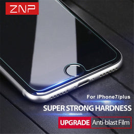 ZNP Tempered Glass  Screen Protector for iphone 7/6/6s/5/5s Plus/Samsung Galaxy S7