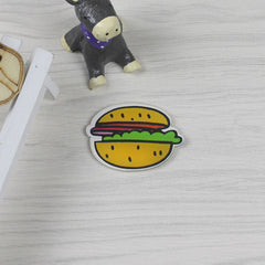 Creative Food Shape Fridge Magnets Cute Hamburg drink