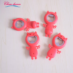 Fashion Creative Cartoon Cow key ring Beer Bottle Openers