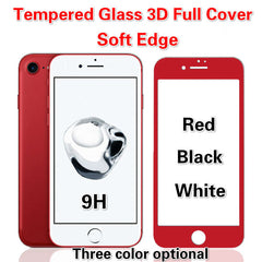3D Full Cover Tempered Glass Screen Protector for iPhone 6/7/6S/7 Plus