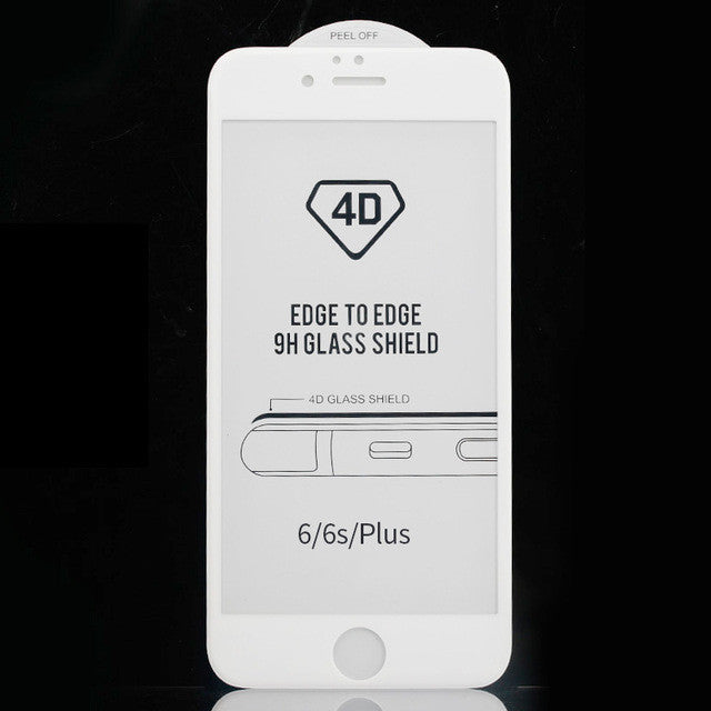 ZNP 4D Curved Tempered Glass for iPhone 6/6s Plus