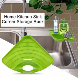 Modern Design Home Kitchen Sink Corner Storage Rack