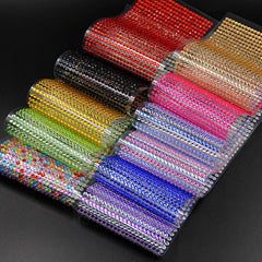 Special offer 260 Pcs/set 6mm Diy Decal Mobile/PC Art Rhinestone Self Adhesive Scrapbooking Stickers