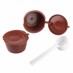 2pcs Refillable Dolce Gusto coffee Capsule
