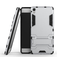 HATOLY Robot Armor Rubber Slim Case for Sony Xperia XA
