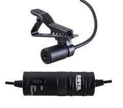 BOYA Lavalier Condenser Microphone for Canon,for iPhones and DSLR