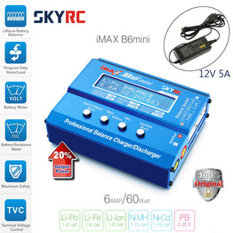 SKYRC IMAX B6 MINI 60W Balance RC Charger/Discharger  RC Helicopter