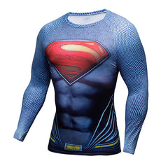 Compression Shirt Batman VS Superman 3D Printed T-shirts Men