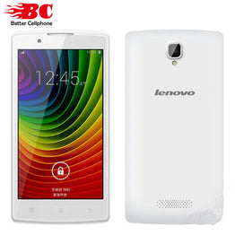 "Lenovo A2860 4.5"" 480x854 Quad Core Android 4.4 GPS 512MB RAM 4GB ROM 5.0MP Dual SIM"