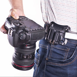 Loading Hanger Quick Release Waist Camera Holster