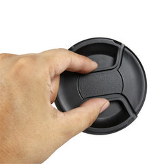 49mm - 77mm Center Pinch Lens Cap Cover