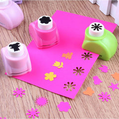 Mini Paper Cutter Flower Paper Punch Craft For Card Making Scrapbooking Craft Punch Hole Puncher
