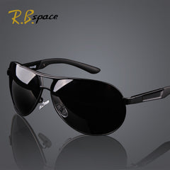 Fashion Men's UV400 Polarized coating Sunglasses men Driving Mirrors Eyewear with Box
