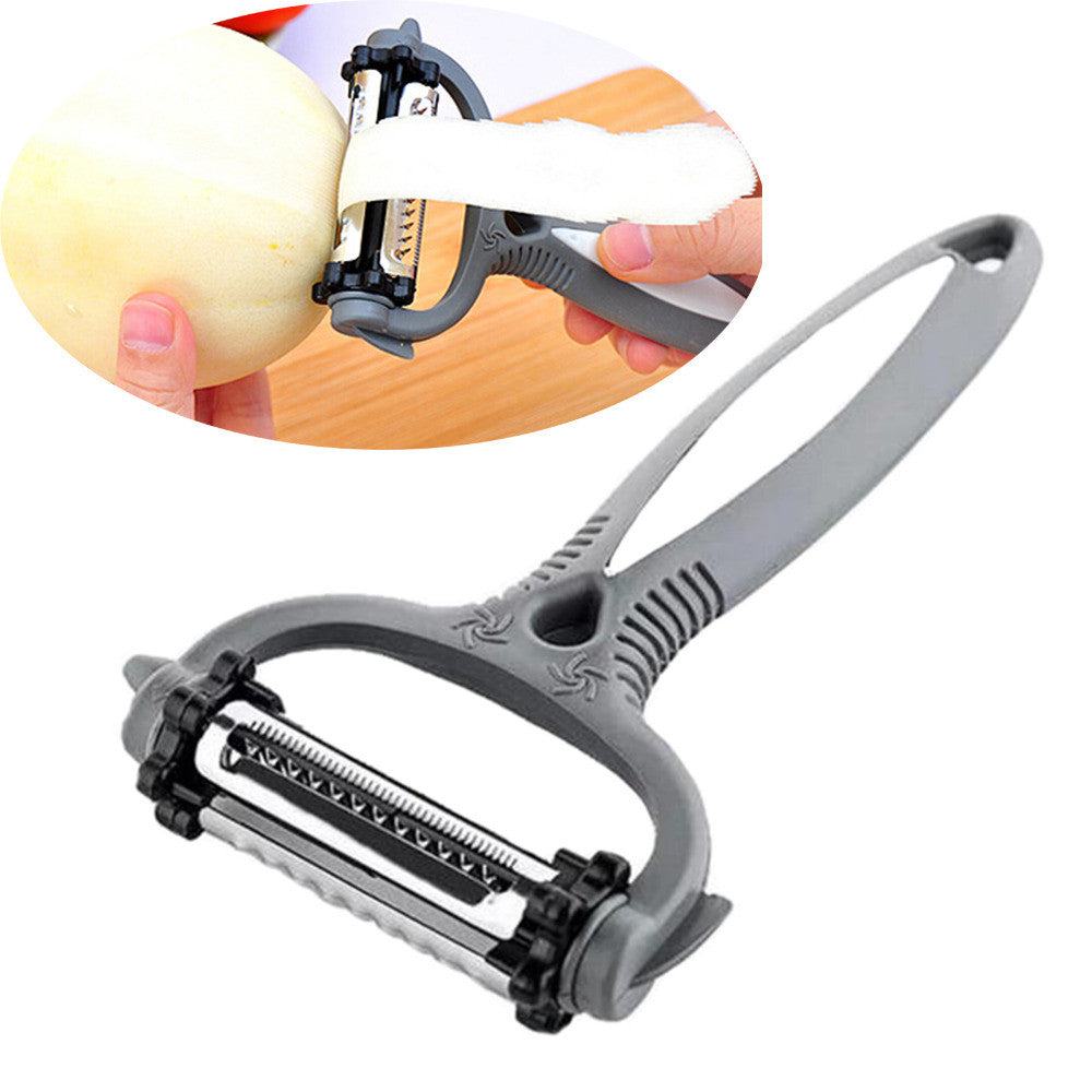 Rotary Carrot Potato Peeler Multifunctional 360 Degree Melon Gadget Vegetable Fruit Cutter