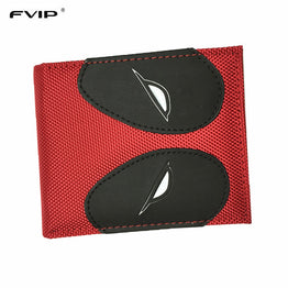 PU and PVC Purse American Marvel Comic Deadpool Wallet