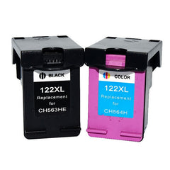 Printer Cartridge for HP 122 Ink 2pcs