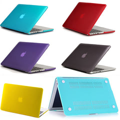 Crystal/Matte Hard Case For macbook air pro 13 11 12 15 Retina Display