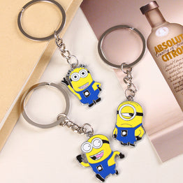 Minions Cartoon Character Despicable Key Chain
