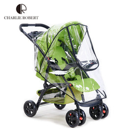 Waterproof Rain Dust Wind Shield Cover for Baby Stroller
