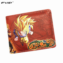 Classic Anime Dragon Ball Z Wallet Young Men and Women