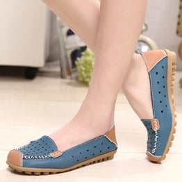 Genuine Soft Leather Shoes for women