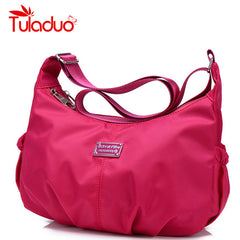 Women's Leisure Crossbody Nylon Travel Bag