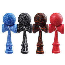 Full Crack Kendama Professional Wooden Toy Skillful Juggling Ball Game