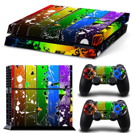 High Quality Fashionable Vinyl Cover Decal PS4 Skin Sticker for Sony PlayStation Console