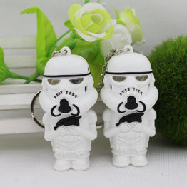 Star Wars Led Flashlight Stormtroopers Keychain
