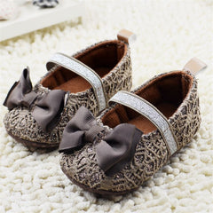 Princess Bowknot lovely Soft Soled Shoes for Baby Girls