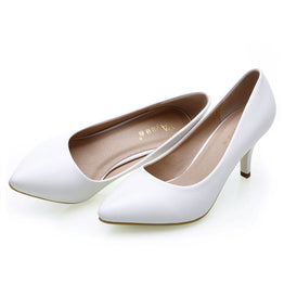 Fashionable High Heels Pumps Office Design Shoes