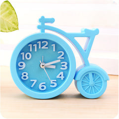 Candy colors Portable mini children student Table Alarm Clocks